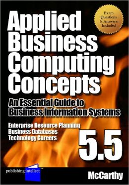 Applied Business Computing Concepts 5.5