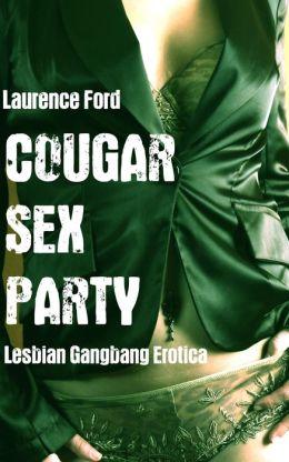 Cougar Sex Party (Lesbian fff Menage Erotica)