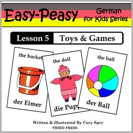 German Lesson 5: Toys & Games (Learn German Flash Cards)