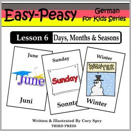 German Lesson 6: Months, Days & Seasons (Learn German Flash Cards)
