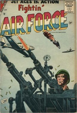 Fightin Air Force Number 4 War Comic Book