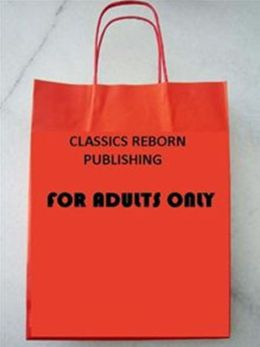 Nudes: Adult Erotic Nudes Red Paper Bag Title