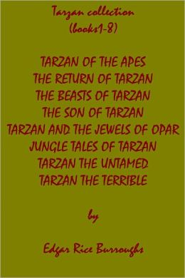 Tarzan books 1-8, superior formatting & chapter navigation