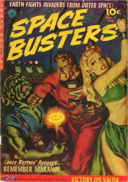 Space Busters Number 2 Fantasy Comic Book