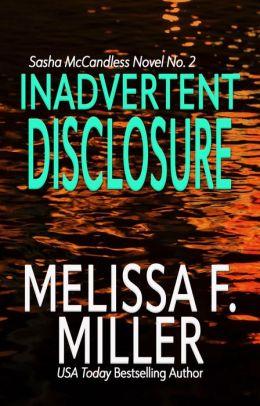 Inadvertent Disclosure (Sasha McCandless Series #2)