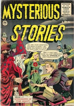 Mysterious Stories Number 6 Horror Comic Book