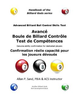 ACBC Avancé Boule de Billard Contrôle Test de Compétences