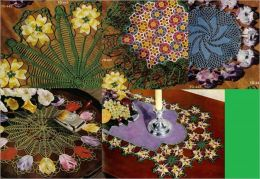 Floral Doily Crochet Patterns For Your Home