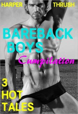Bareback Boys Cumpilation: 3 Hot Tales [Gay Erotica]