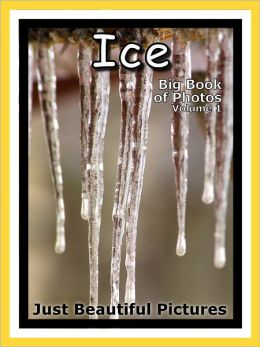 Just Ice Photos! Big Book of Photographs & Pictures of Ice, Vol. 1