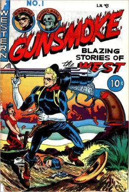Gunsmoke Number 1 Western Comic Book