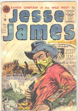 Jesse James Comic Book Issue No. 22