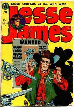 Jesse James Comic Book Issue No. 15