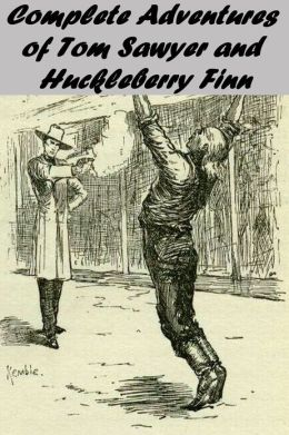 The Complete Adventures of Tom Sawyer and Huckleberry Finn by Mark Twain (THE ADVENTURES OF TOM SAWYER, THE ADVENTURES OF HUCKLEBERRY FINN, TOM SAWYER ABROAD, TOM SAWYER, DETECTIVE, detailed links to each book and chapter)