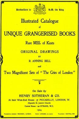 UNIQUE GRANGERISED BOOKS