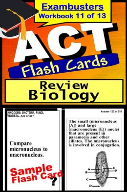ACT Test Biology Review--ACT Science Flashcards--ACT Prep Exam Workbook 11 of 13