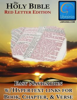 Holy Bible - Red Letter Edition (with illustrated history