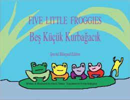 Five Little Froggies/Beş Küçük Kurbağacık