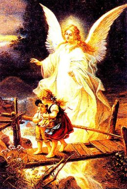 GUARDIAN ANGELS AND ST. BENEDICT
