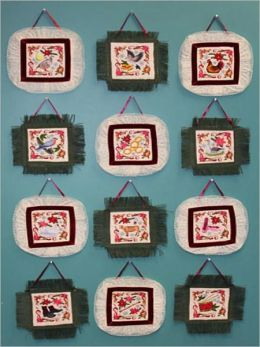 12 Days of Christmas Wall Hangings Pattern