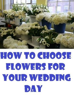 How to Choose Flowers for Your Wedding Day