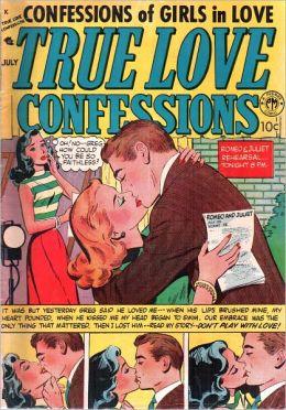 True Love Confessions Number 2 Love Comic Book