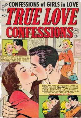 True Love Confessions Number 4 Love Comic Book
