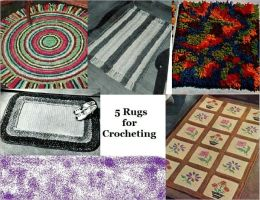 5 Rugs for Crocheting