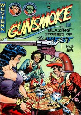 Gunsmoke Number 3 Western Comic Book