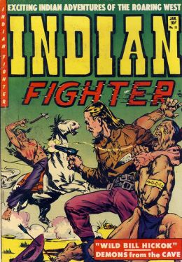 Indian Fighter Number 11 Western Comic Book