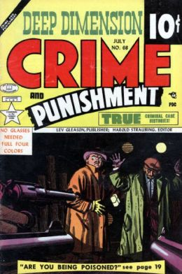 Crime and Punishment Number 68 Crime Comic Book