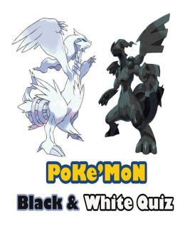 Pokemon Black & White Quiz Game
