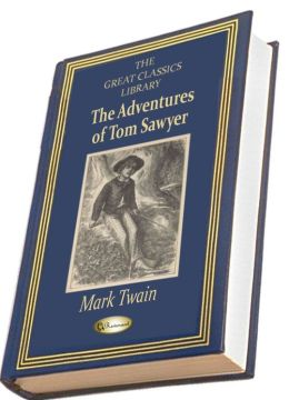 The Adventures of Tom Sawyer (Illustrated) (THE GREAT CLASSICS LIBRARY)