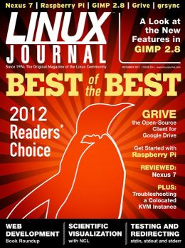 Linux Journal December 2012