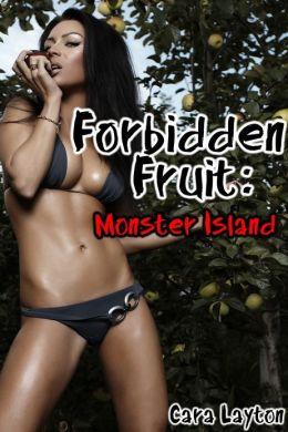 Forbidden Fruit: Monster Island (Reluctant Monster Menage Sex)