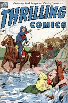 Thrilling Comics Number 79 Western Comic Book