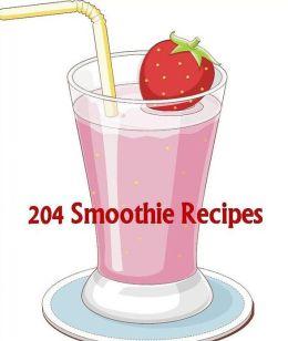 FYI Recipes on 204 Smoothie Recipes - Healthier way to raise your energy level...