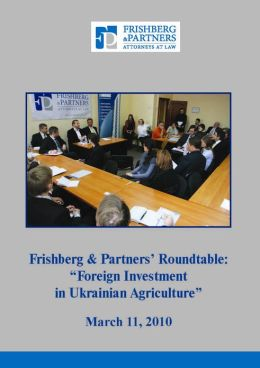 Foreign Investment in Ukrainian Agriculture