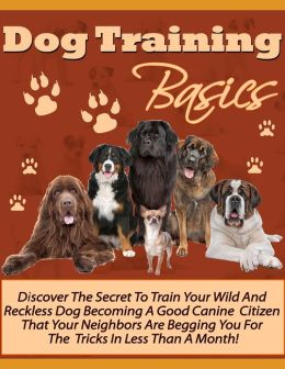 Dog Training Basics: Discover the Secret to Train Your Wild and Reckless Dog Becoming a Good Canine Citizen That Your Neighbors are Begging You For the Tricks in Less than a Month!