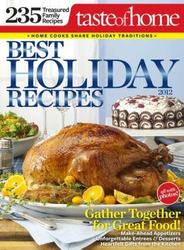 Taste of Home Best Holiday Recipes