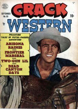Crack Western Number 68 Western Comic Book