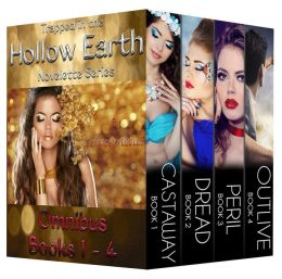 Trapped in the Hollow Earth Omnibus Edition (Books 1 - 4)