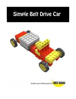 Simple Belt Drive Car