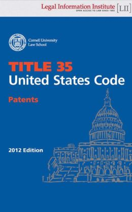 United States Code - Title 35 - Patents