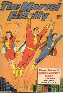 Marvel Family Number 3 Superhero Comic Book