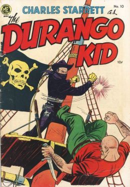 DURANGO KID Number 10 Western Comic Book