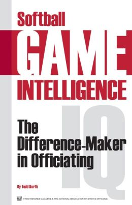 Softball Game Intelligence: The Difference Maker in Officiating