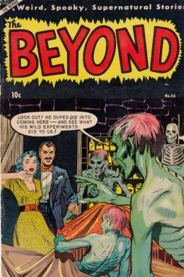 Beyond Number 26 Horror Comic Book