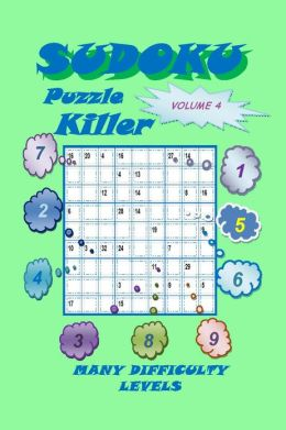 Killer Sudoku Puzzle, Volume 4