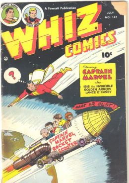 Whiz Comics Number 147 Super-Hero Comic Book